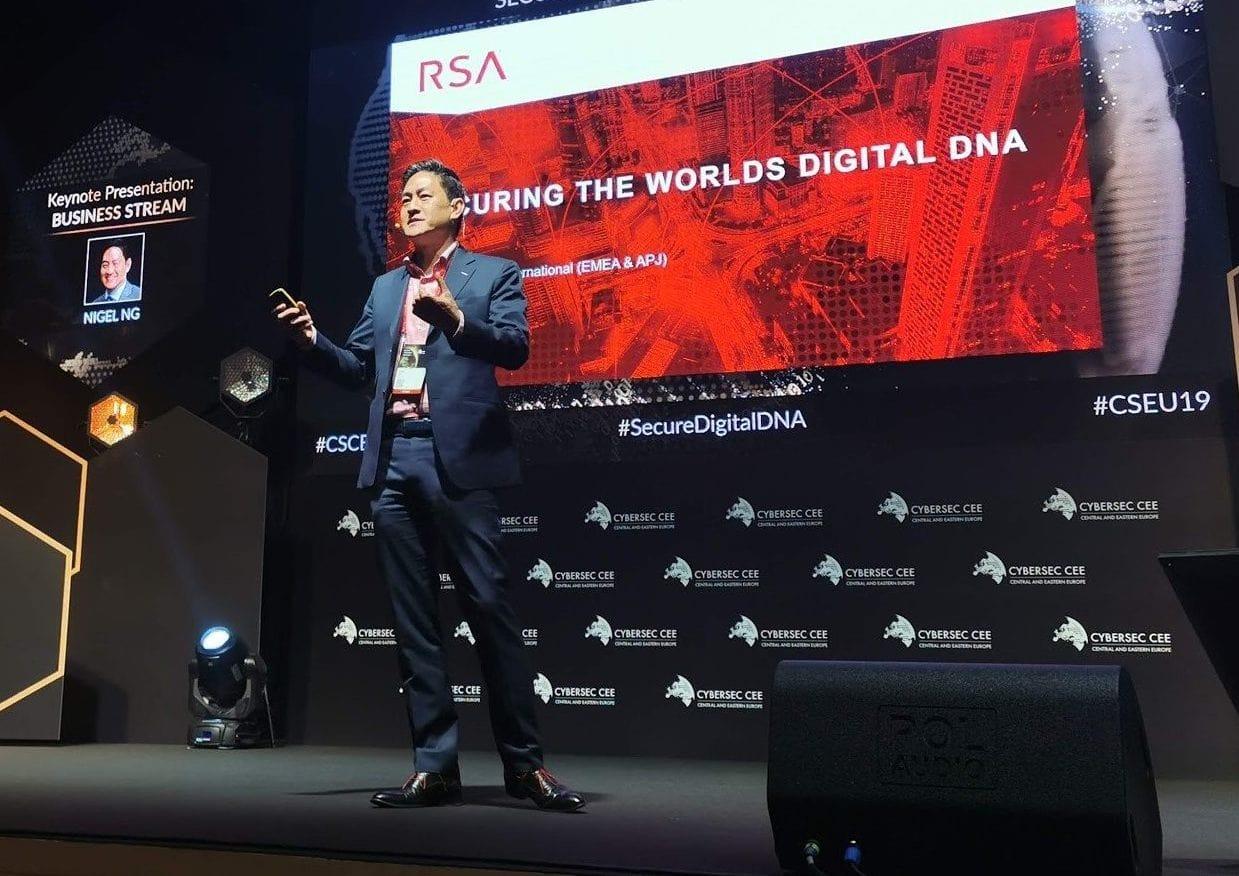 Talk with Nigel Ng, Vice President, RSA International
