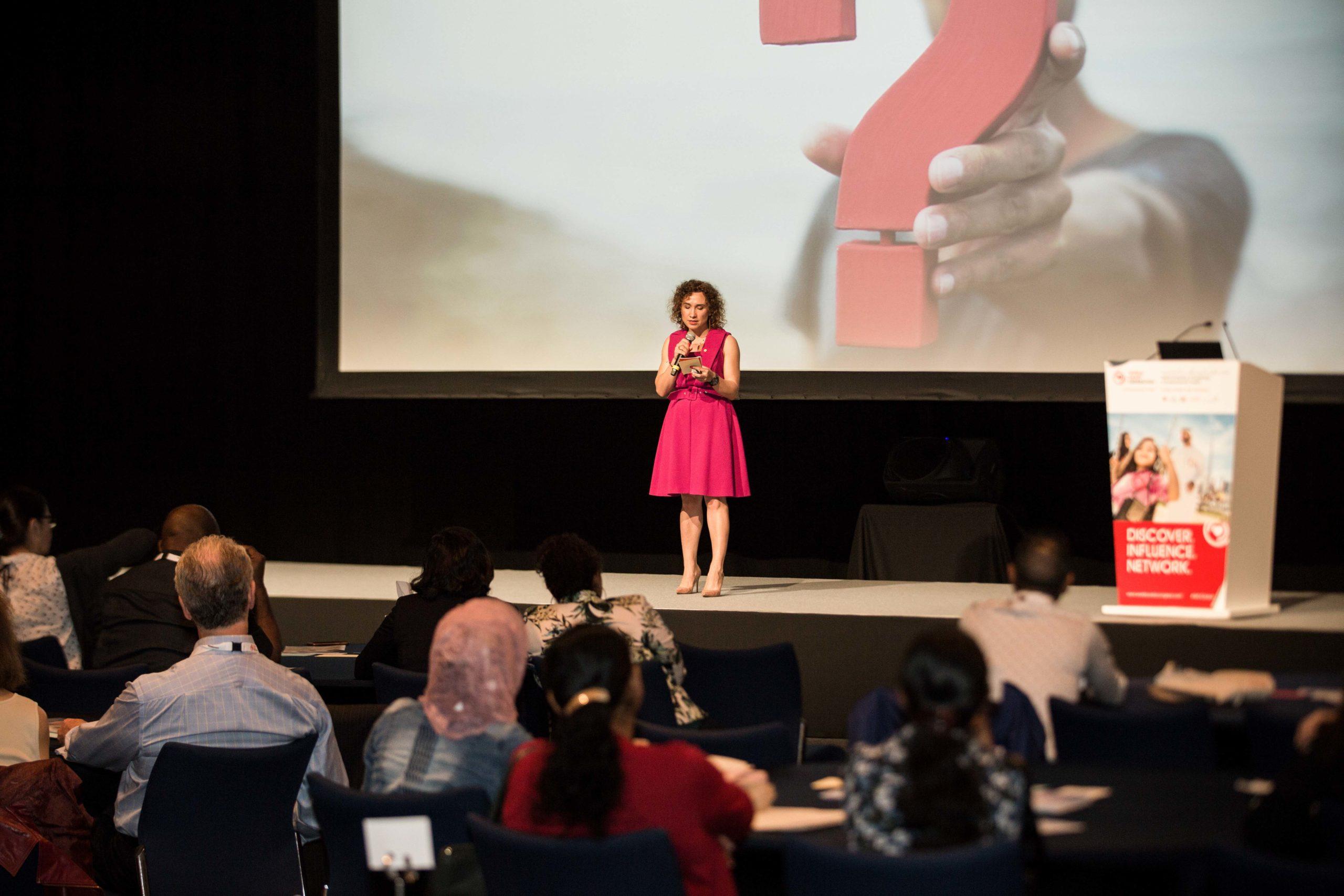 Power speech at the World Congress of Cardiology & Cardiovascular in Dubai in 2018