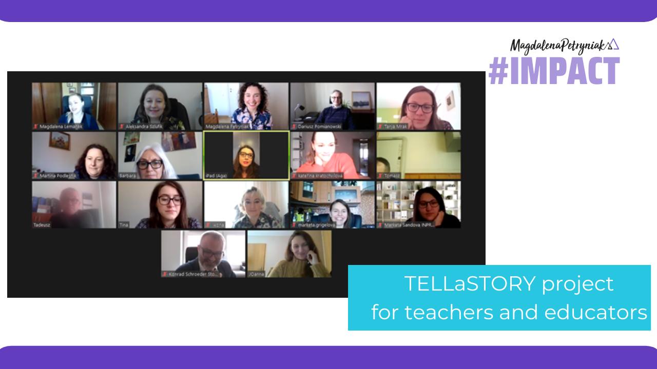 TELLaSTORY – storytelling in primary schools